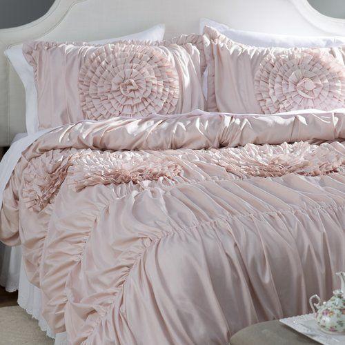 Found It At Wayfair Lazerte 3 Piece Pink Blush Comforter Set