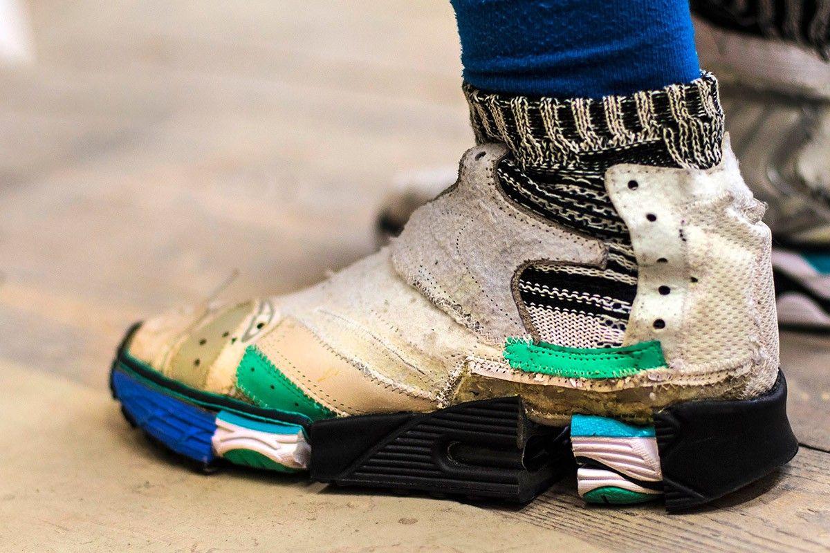 Vetements x Reebok Insta Pump Fury, Men's Fashion, Footwear