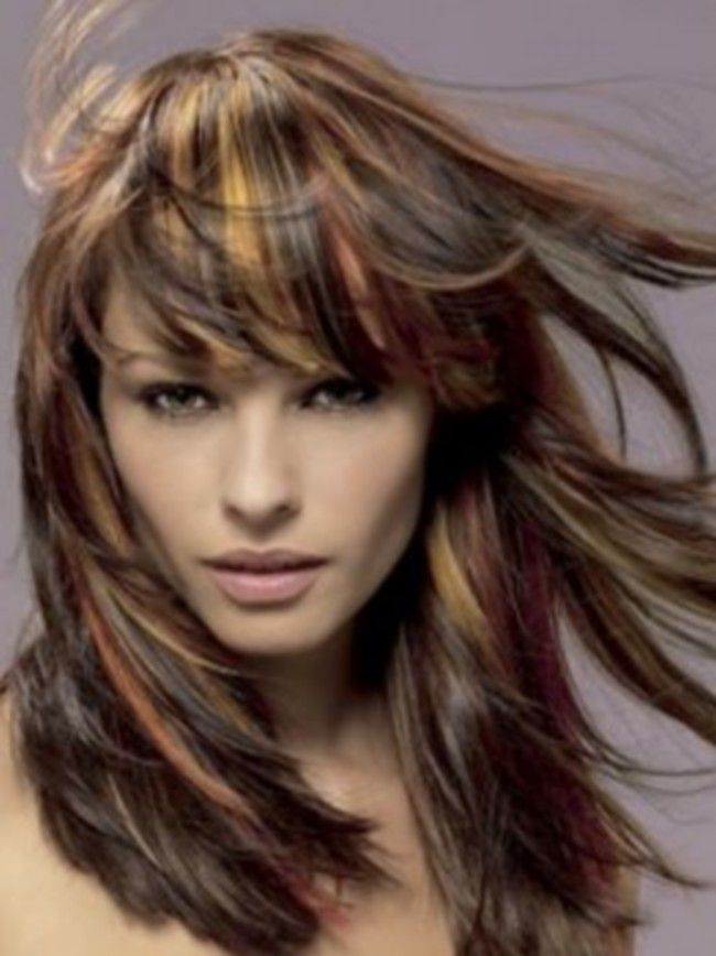 Two Tone Hair Color Ideas For Brown Hair And Light Eyes Lovely