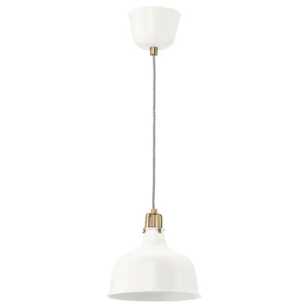ranarp pendant lamp off white ikea