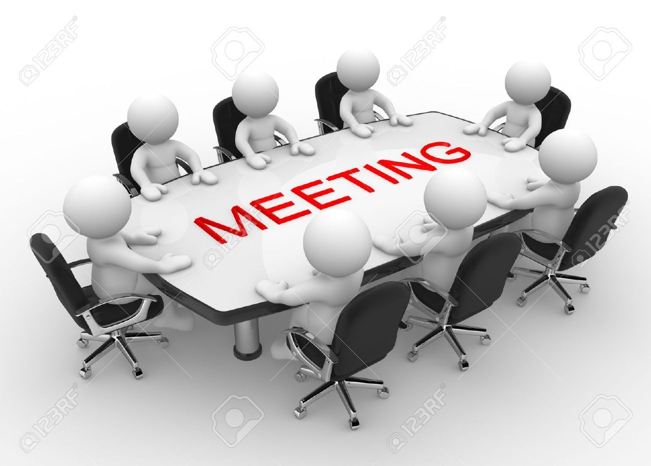 Table Meeting Images Stock Pictures Royalty Free Table