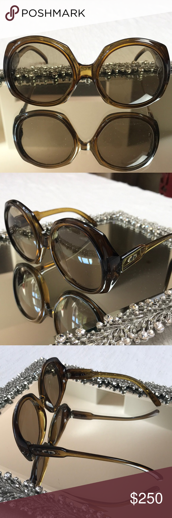 51b54e5ce9ac Vintage Christian Dior round Large sunnies Vintage Christian Dior round  Large sunnies Hater blockers Dior Accessories Glasses
