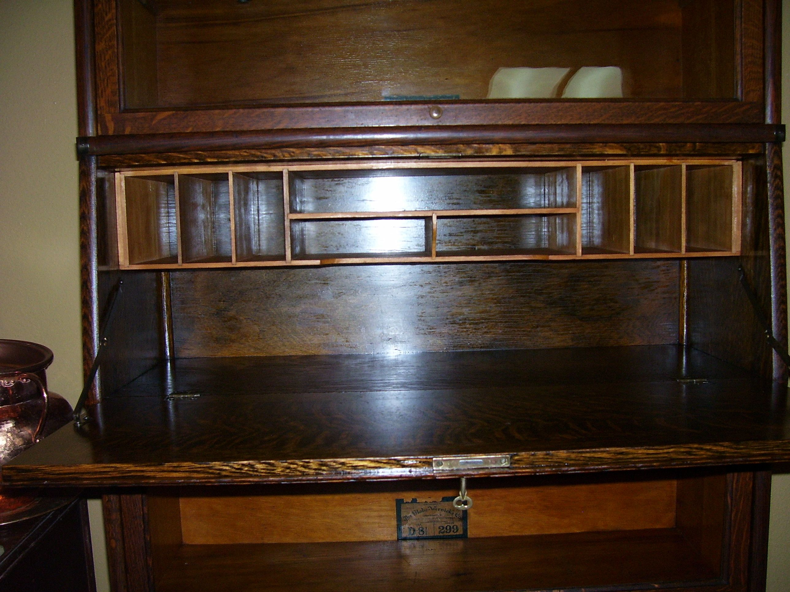 Globe Wernicke Bookcase Desk Without Legs This Is A Size D