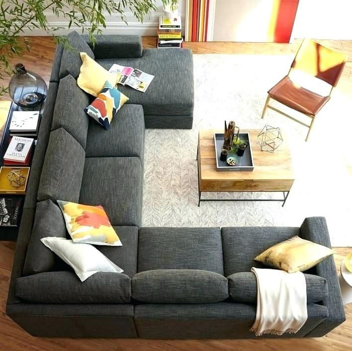 U Sectional Sofa Large U Shaped Sectional Sofa Best U Shaped Sectional Ideas On Couch For Decorations Living Room Sectional Livingroom Layout Living Room Sofa