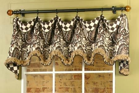 Cuff Top Valance By Pate Meadows Valance Patterns