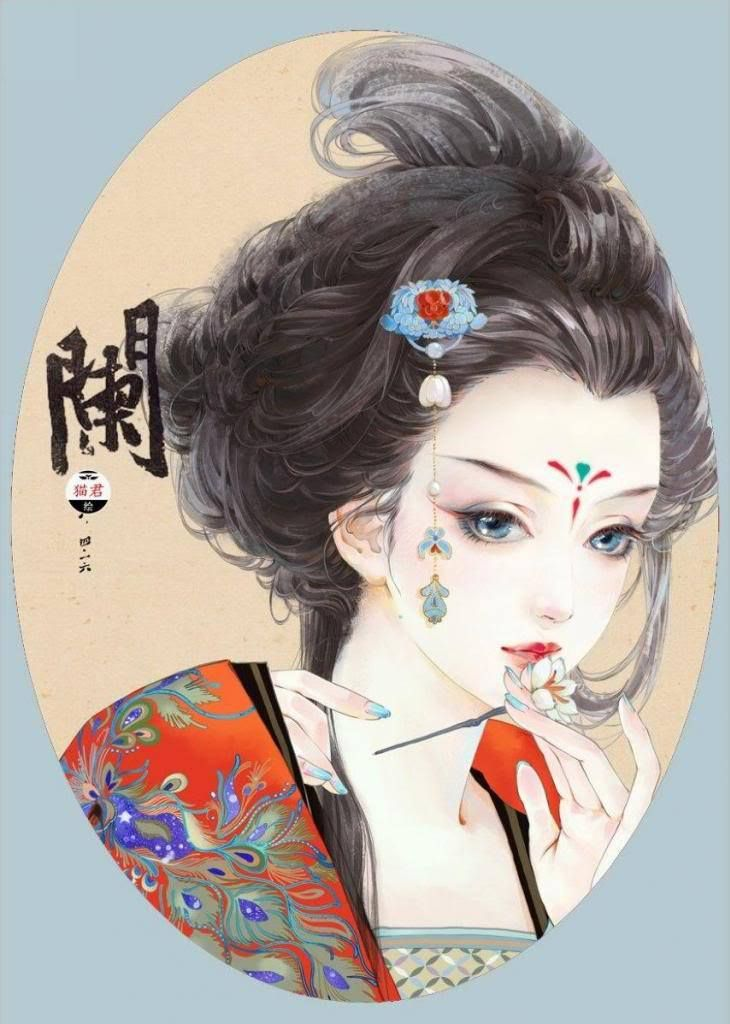 Tranh Mieu Quan Tieu Tru Nam Ca Tu Chinese HairstylesChinese