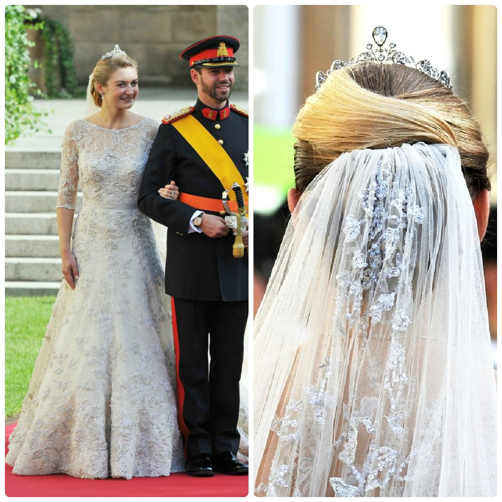 The Wedding Of Prince Guillaume Of Luxembourg And The Countess Stephanie De Lannoy Royal Wedding Dress Royal Wedding Gowns Royal Brides [ 1024 x 1024 Pixel ]