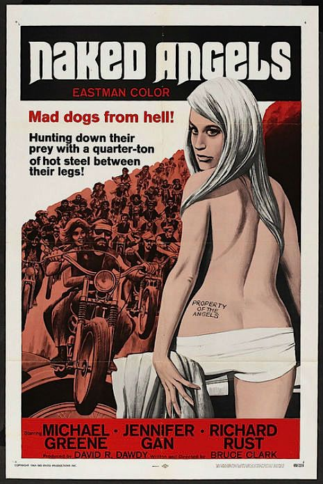 hells angels women naked