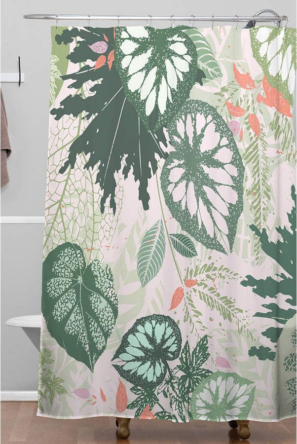 Deny Designs Iveta Abolina Floral Goodness Shower Curtain Reviews Shower Curtains Bed Bath Macy S Design Baby Clothes Shops Floral