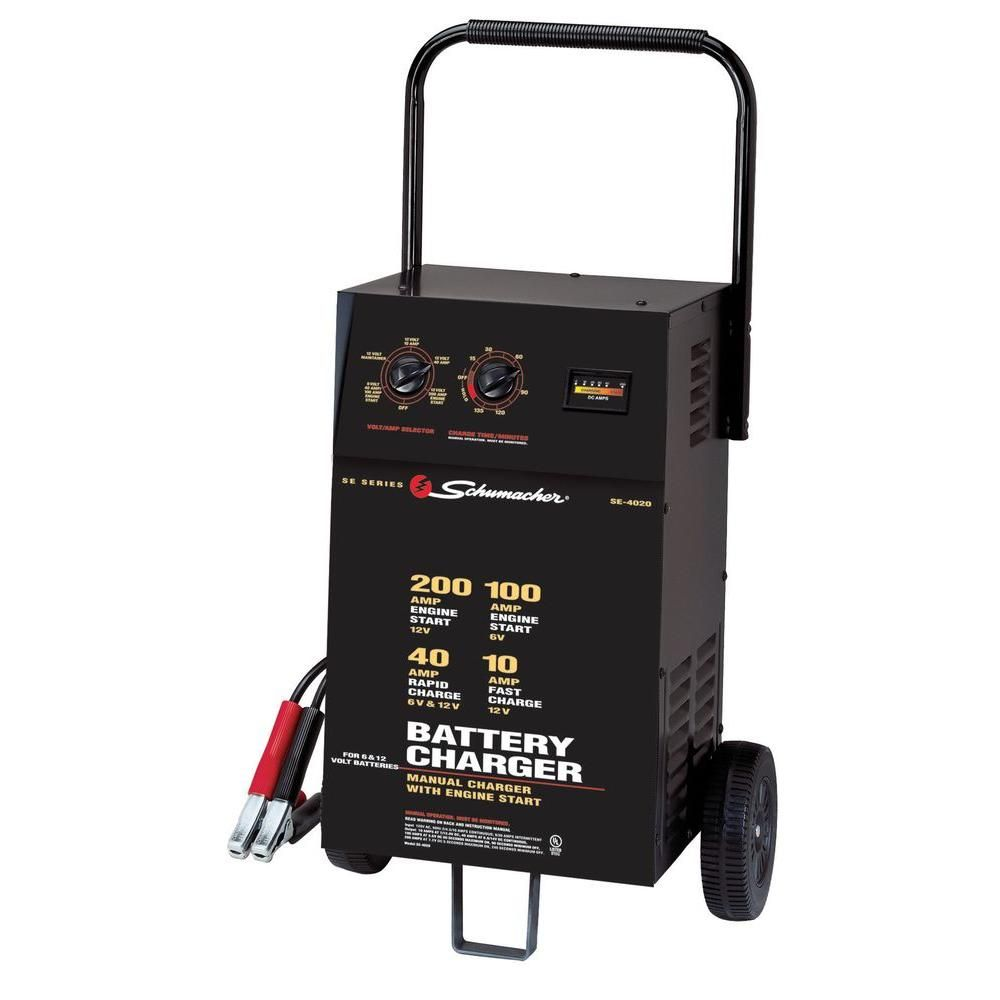 6 12 Volt 40 Amp Automatic Battery Charger
