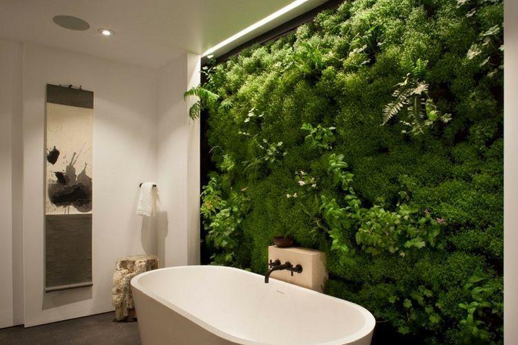 Déco  une ambiance nature et zen dans la salle de bain Pinterest