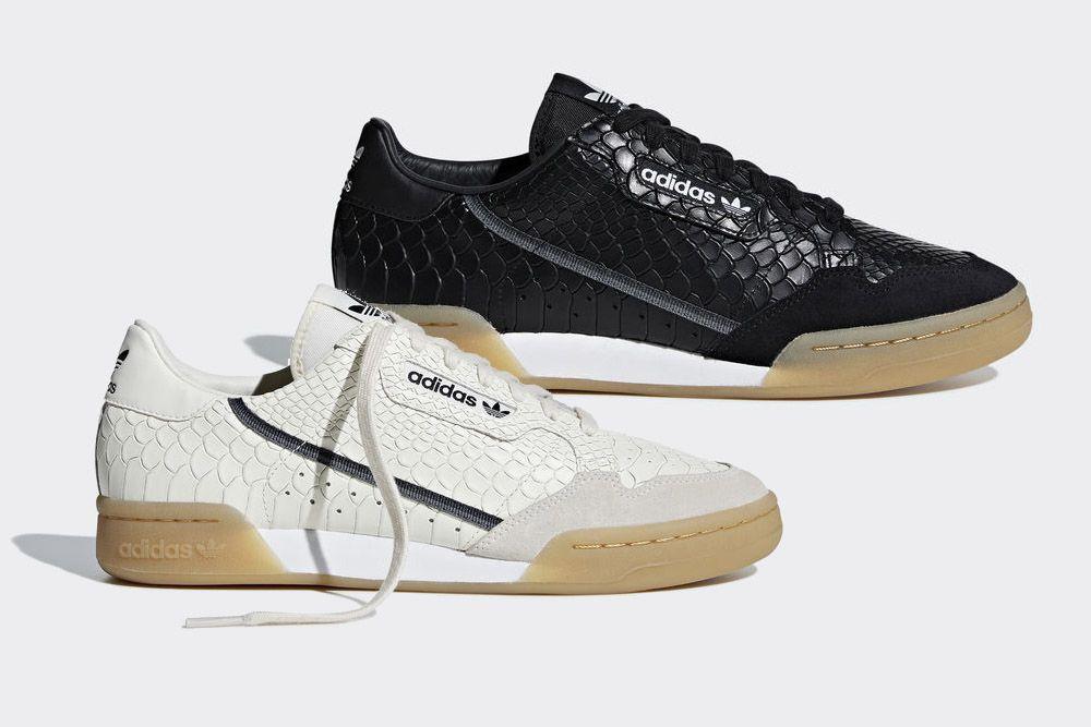 """Nadchodzą nowe adidas Continental 80 w """"Snake"""
