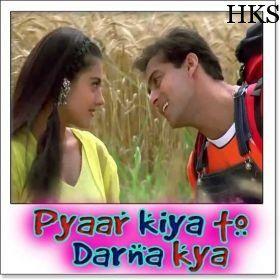 Deewana Main Chala Pyar Kiya To Darna Kya Karaoke Songs It Movie Cast 90s Songs