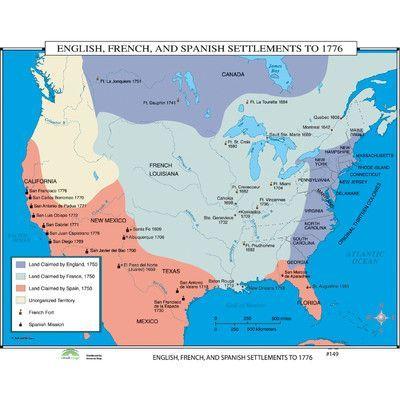 English Map Of The World.Universal Map World History Wall Maps English French Spanish