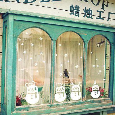 WINTER ONE SHEET BEAUTIFUL STICKERS #BELEN11 SNOWFLAKES CHRISTMAS SNOWMAN