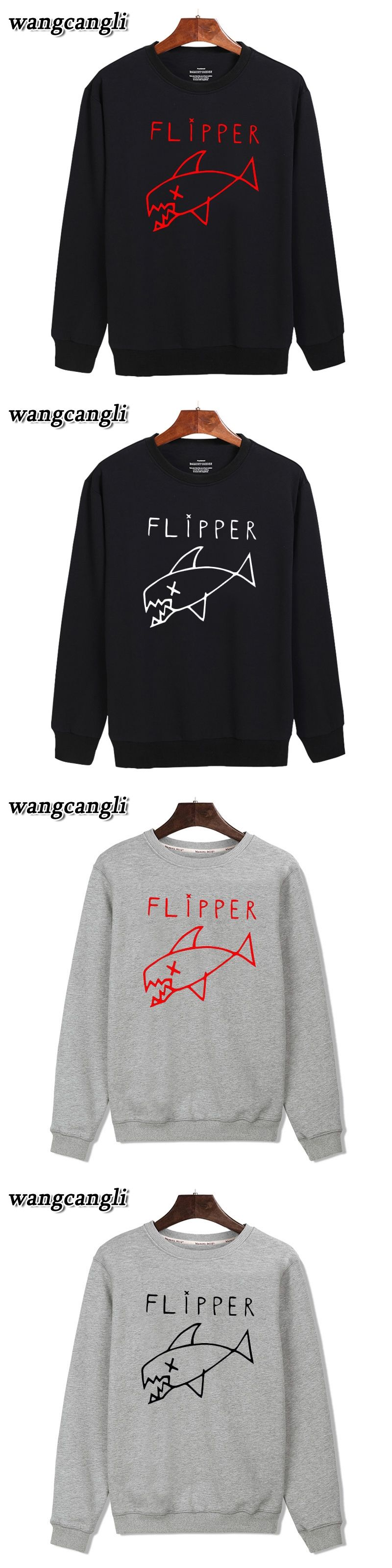 a7fb3d5be56 Cartoon Flipper Fish purpose tour hoodie Black hoodies men brand designer  mens sweatshirt men in 3XL