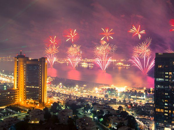 United Arab Emirates: New Year's In Dubai 2017