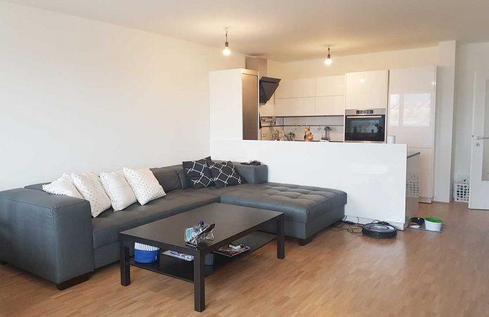 15 Beste Design Ideen Ein 30 Quadratmeter Grosses Wohnzimmer Mit Kuche Sectional Couch Home Decor Furniture