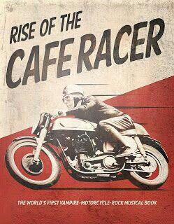 Cafe Racer Art Vintage Motorcycle Posters Bike Poster Motorcycle