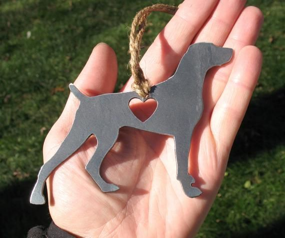 Weimaraner 3 Pet Loss Gift Ornament  Pet Memorial  Dog Sympathy Remembrance Gift  Metal Do Weimaraner 3 Pet Loss Gift Ornament  Pet Memorial  Dog Sympathy Remembrance Gif...