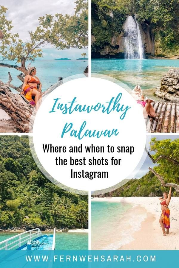Most instagrammable places in Palawan (with map) ⋆ Fernwehsarah