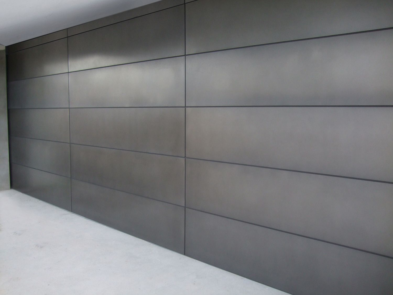 1125 #5F636C Axolotl Steel Look Garage Door This One Is A Bit More Solid And  save image Steel Overhead Doors 38071500