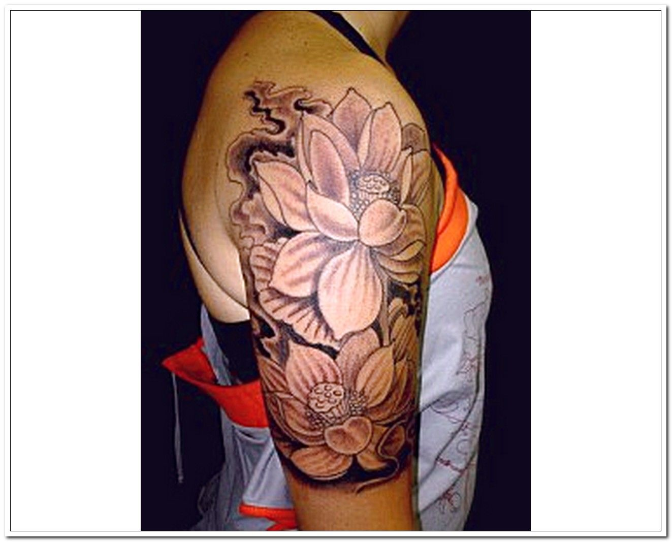 Lotus Tattoo Designs For Shoulders Tattoos For Women Half Sleeve Arm Sleeve Tattoos For Women Half Sleeve Tattoo