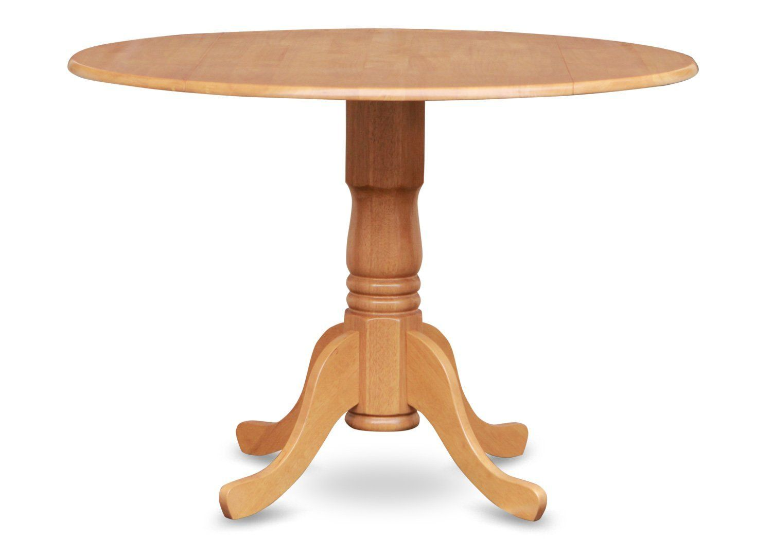 202 East West Furniture Dlt Oak Tp Round Table With
