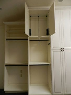 Pull Down Closet Rod Design Ideas Pictures Remodel And Decor Bedroom Organization Closet Wardrobe Room Closet Decor
