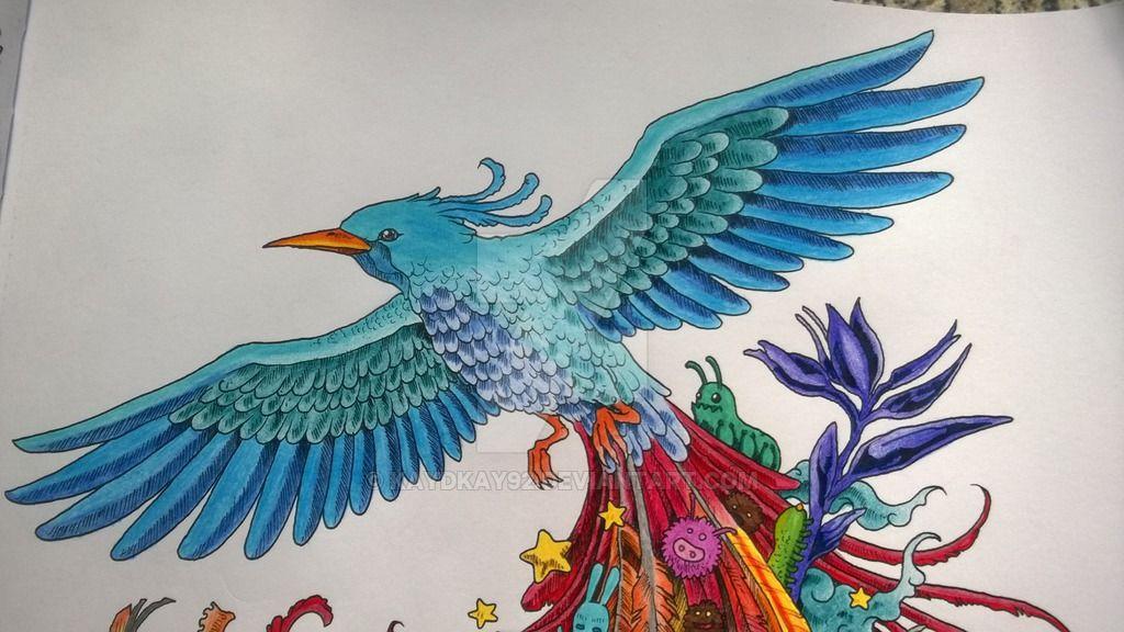 Animorphia Coloruing Book