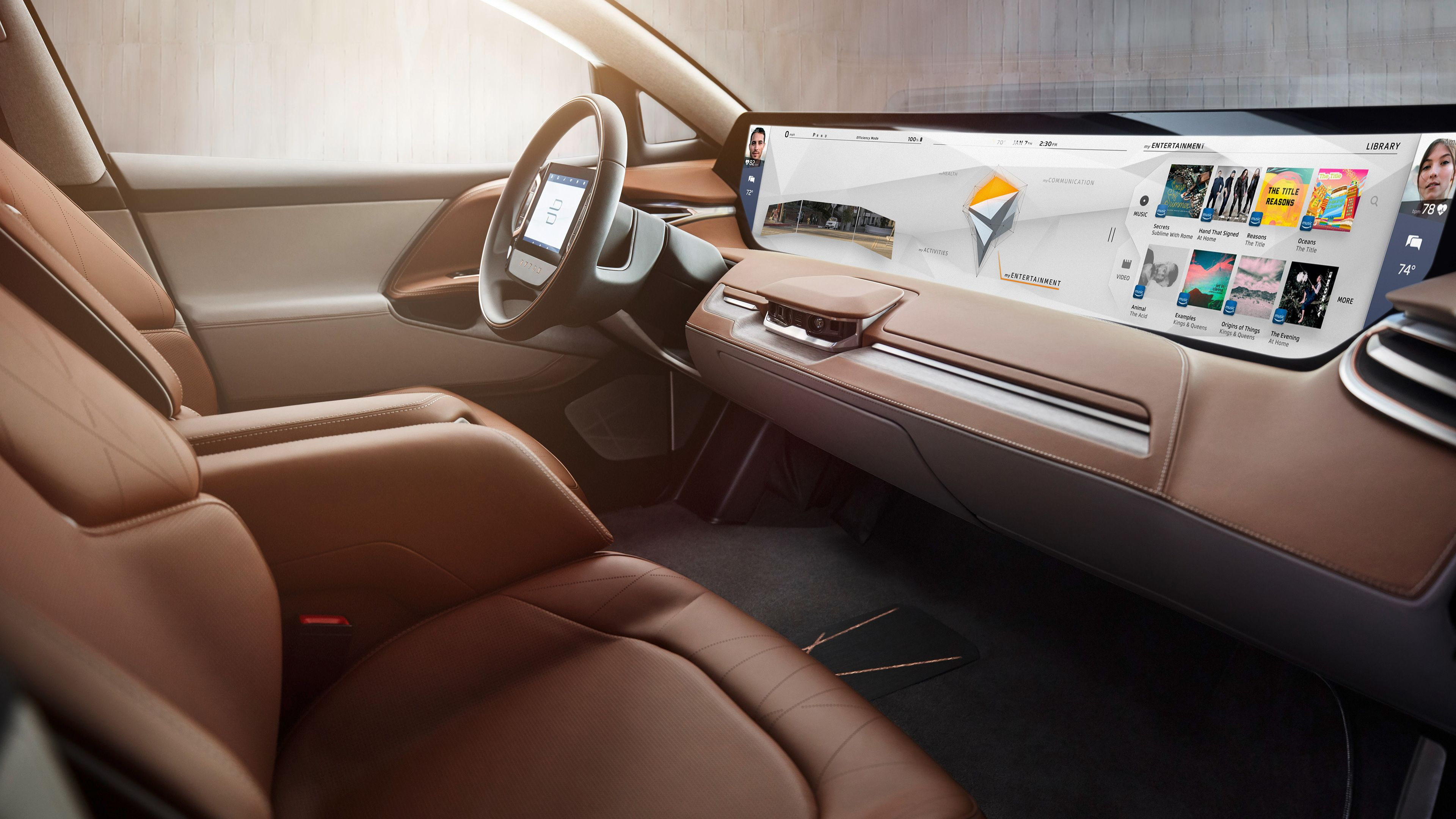 Byton Electric Car Interior Hd Wallpapers Electric Cars Wallpapers Cars Wallpapers Byton Wallpapers 4k Wal Car Experience Concept Cars Electric Car Concept