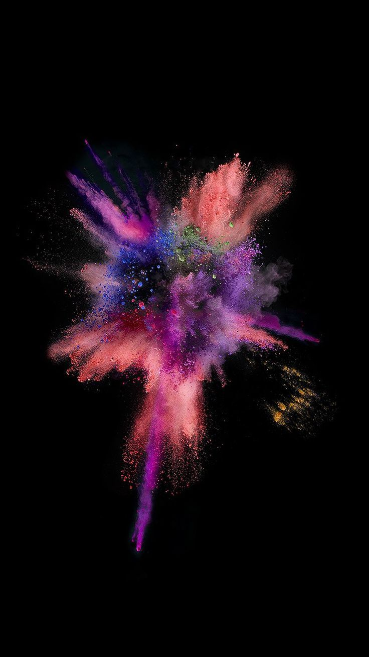 an55-apple-dark-spark-ios9-iphone6s-color-rainbow – hzr - Let's Pin This #darkiphonewallpaper