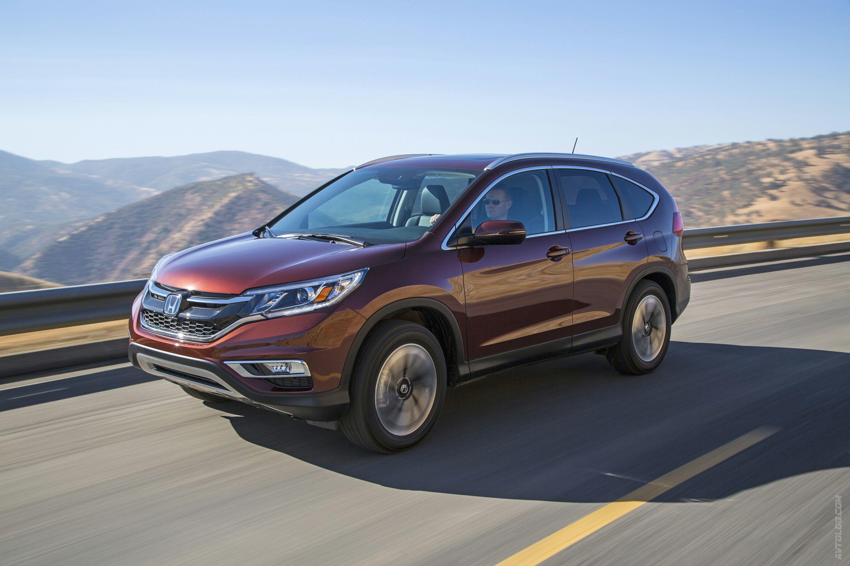Официально представлена 2015 Honda CRV Автомобили