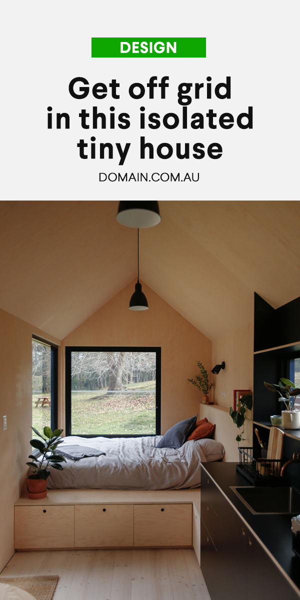 Switch off and unwind in this isolated tiny house