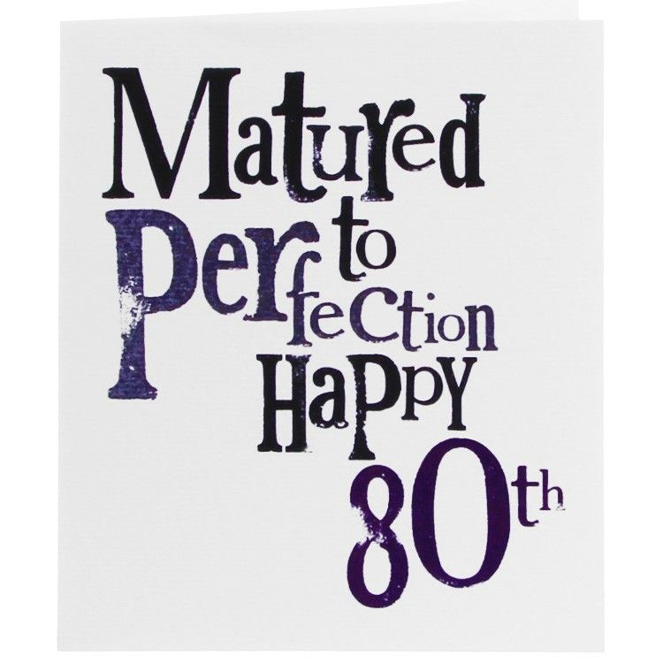 Another possible sign birthday humor happy 80th