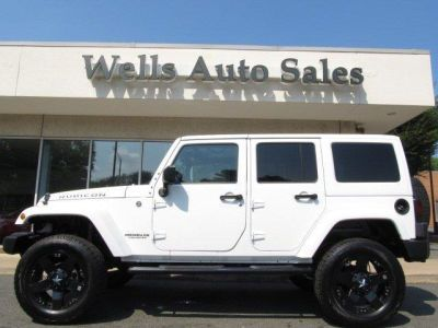 White Jeep Wrangler Unlimited With Rockstar Rims | Hot Wheels
