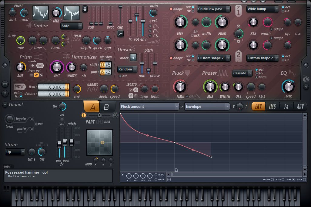 Harmor currently my favourite synth! Can resample too