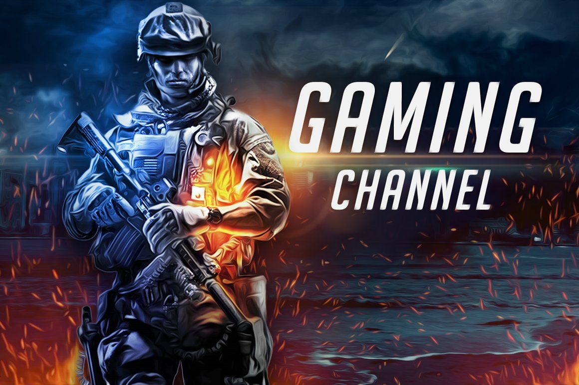 Youtube Gaming Channel Art Channel art, Youtube channel