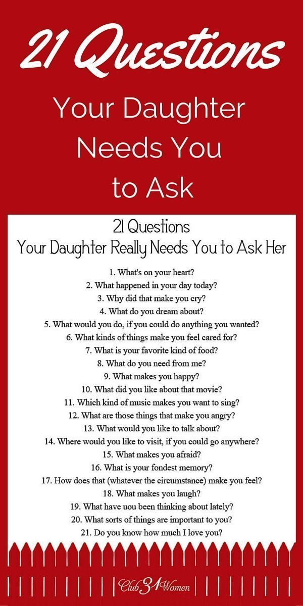 Relationship questions for teens