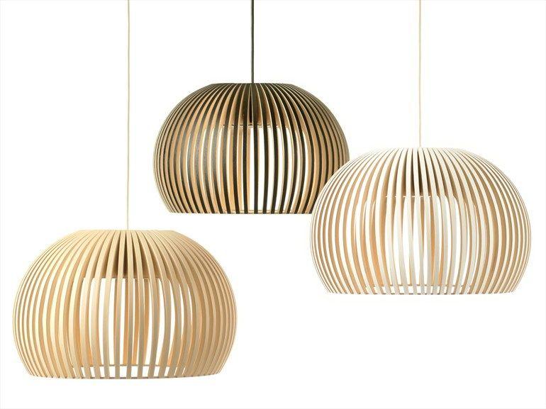 Handmade pendant lamp ATTO 5000 Secto Collection by Secto Design | design Seppo Koho