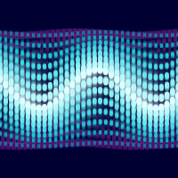 Lots And Lots Of Sine Waves To Create A Giant Sine Wave Controls Move The Mouse Across The Width To Change Frequency Mov Sine Wave Blue Waves Waves
