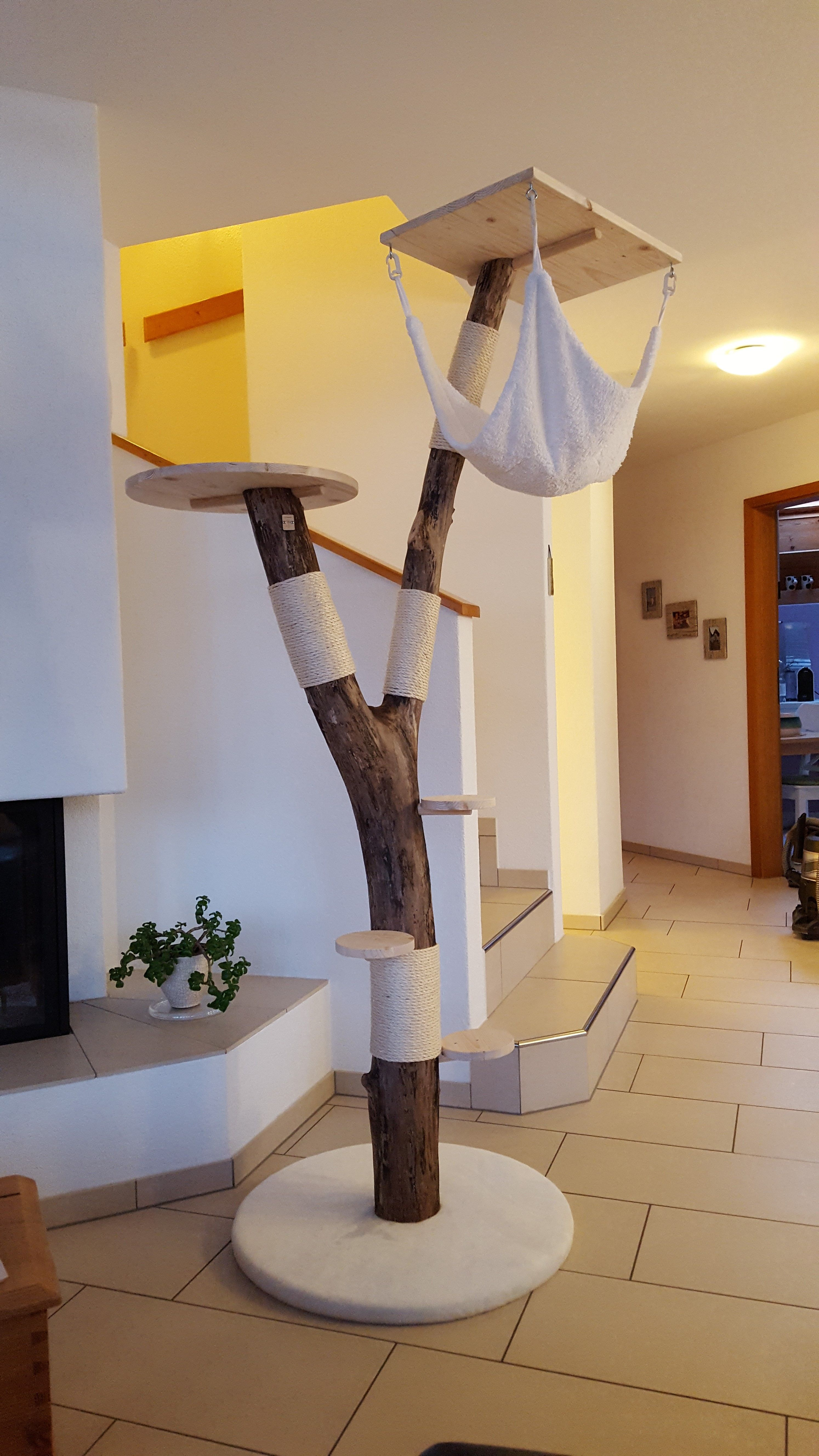 kratzbaum katzenbaum chatzebaum.ch sisal unbehandelt natur unikat