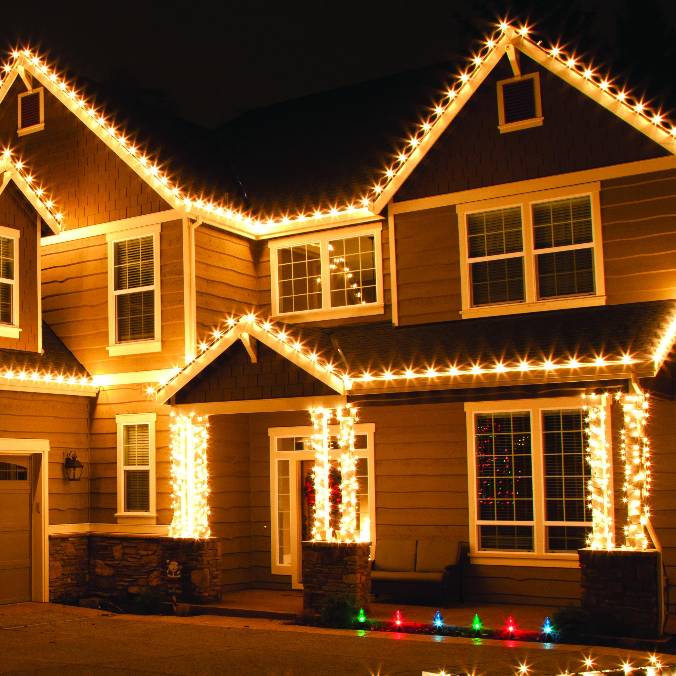 Outdoor Christmas Lights Outside Xmas