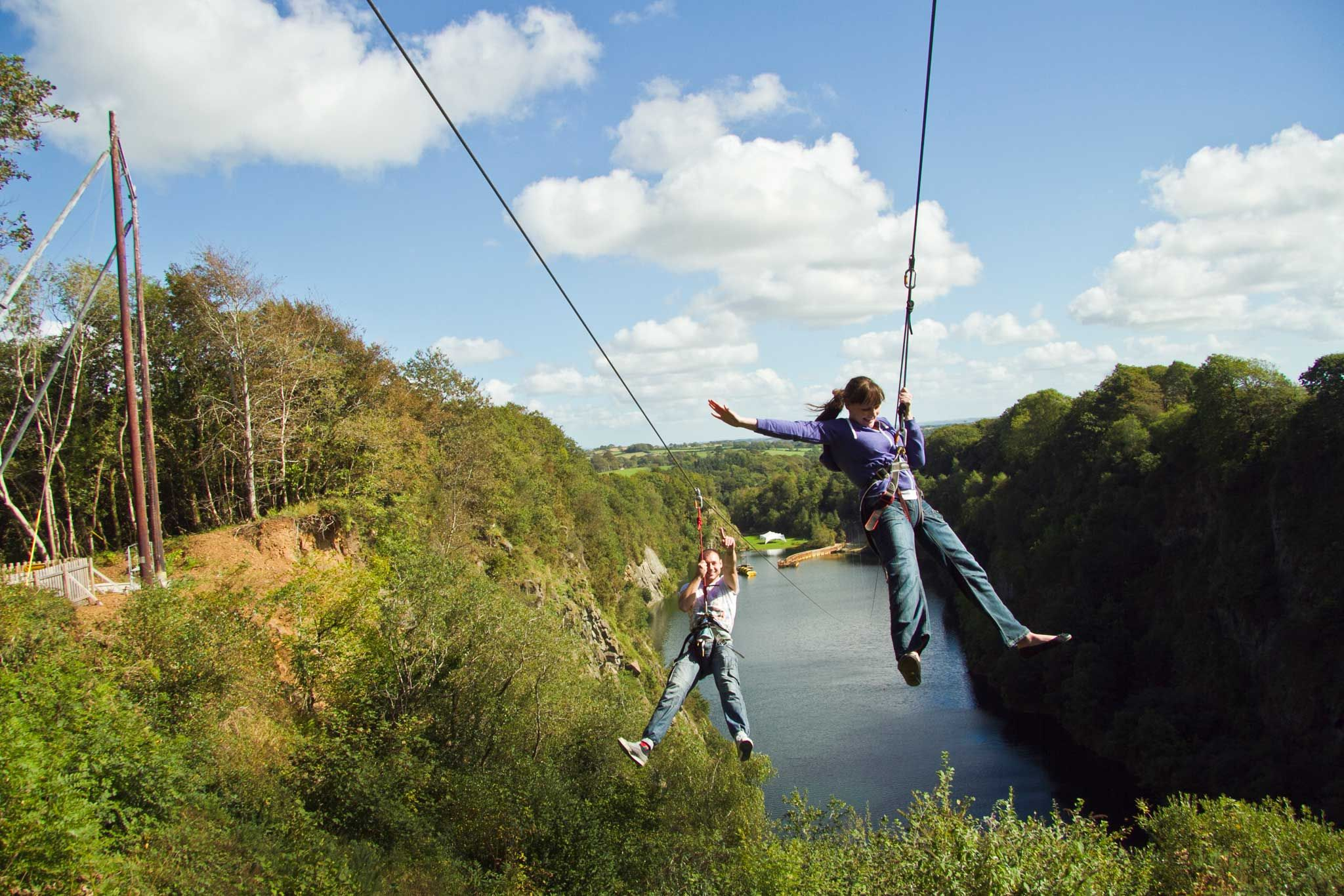 4 man zip wire wales yamaha mio mxi 125 wiring diagram things to do in cornwall uk 39s biggest and