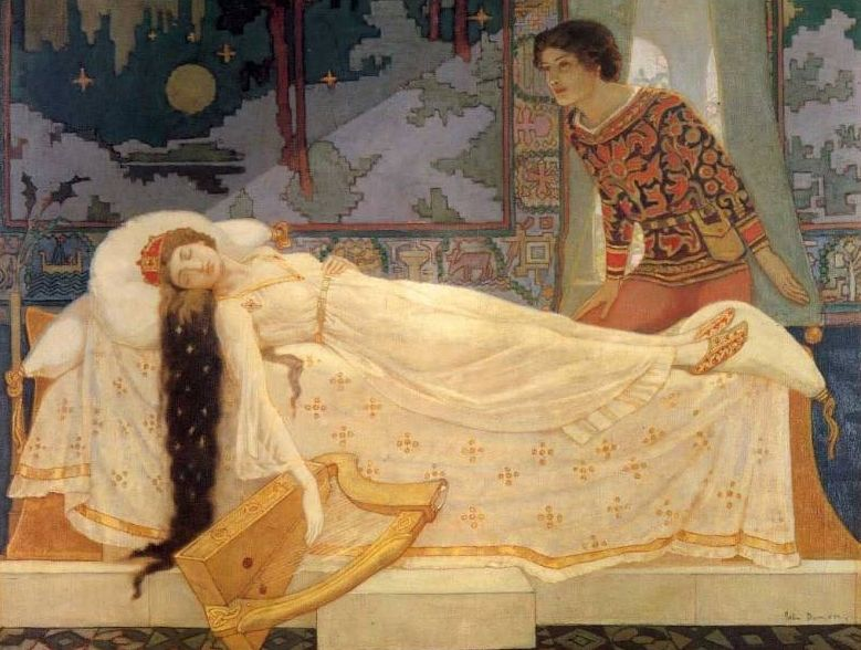 John Duncan 1866-1945 | Scottish Symbolist painter