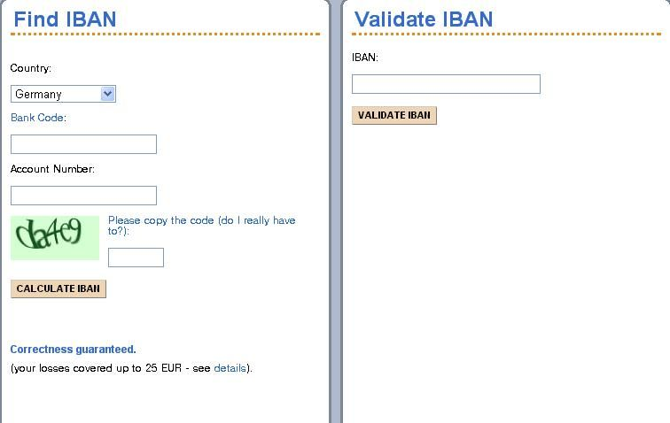How To Find Iban For European Bank Accounts Accounting Bank Account Bank Code