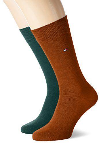 Tommy Hilfiger, Calcetines para Hombre (Pack de 2)