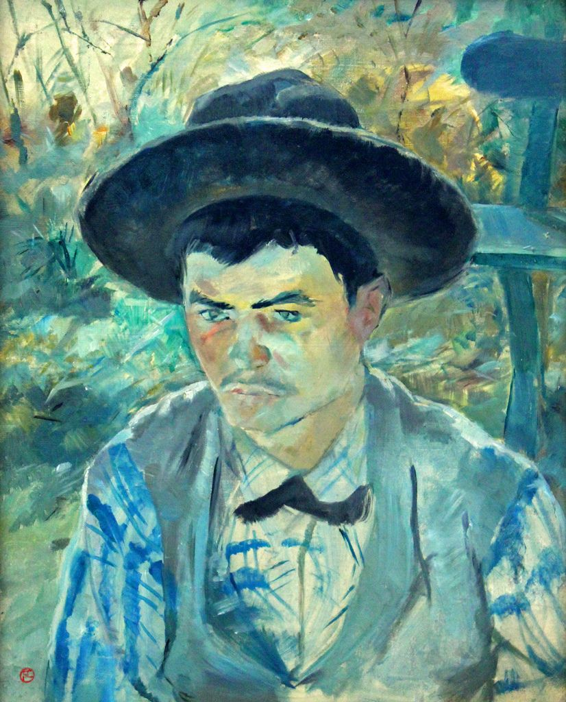 Young Routy by Toulouse-Lautrec (France)