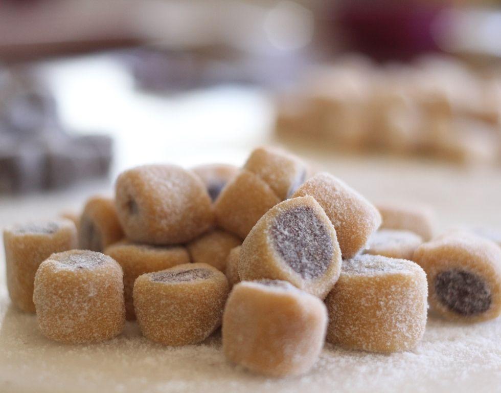 Bala Gourmet De Leite Ninho E Bala Gourmet De Nutella Com Imagens