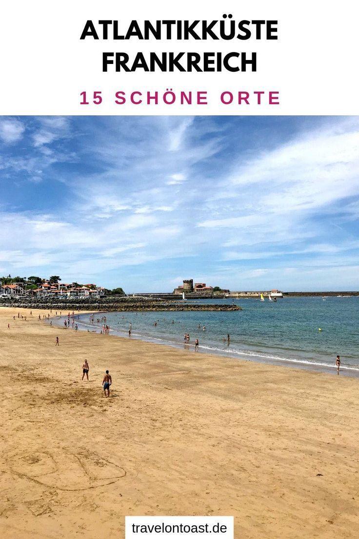 Orte frankreich in schönsten meer die am Alle Frankreich